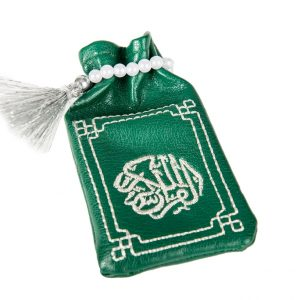 Minicoran Vert brodé Argent - Vente