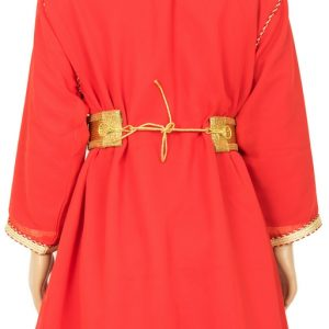 Caftan2 Fille orange