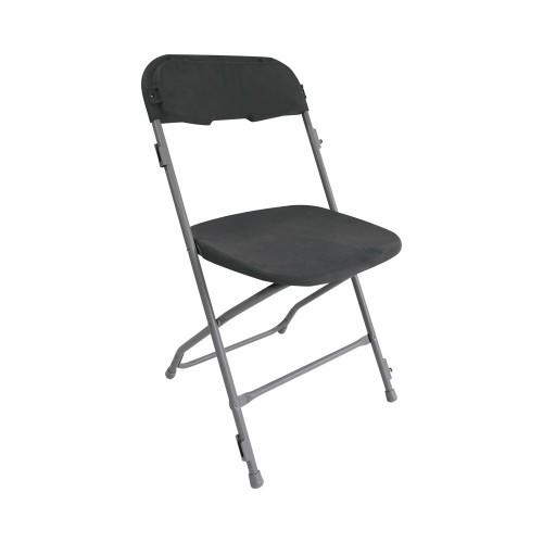 Chaise pliante grise - location