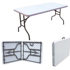 Table rectangulaire 70cm / 170cm - location